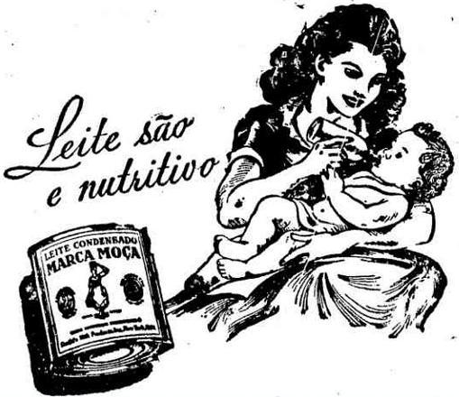 leite moça amamentação 1949